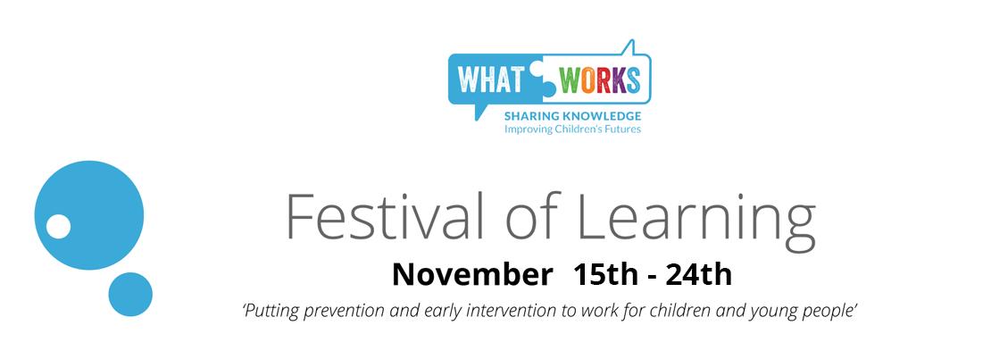 festival of learning. November 15th - 24th